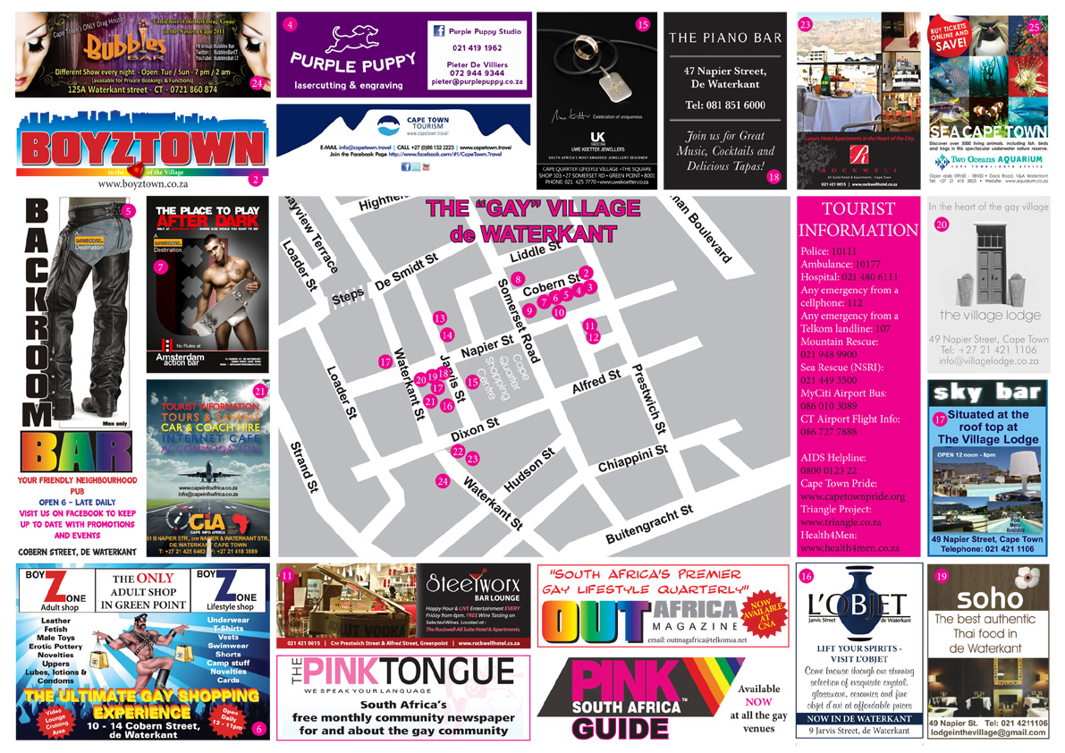 Pink route map 2